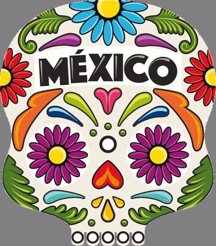 Наклейка «Mexico»Орнаменты<br>Цветная интерьерная наклейка на виниле. Яркая и красивая! Можно сделать любой размер. Трехслойная надежная упаковка. Доставим в любую точку России.<br>