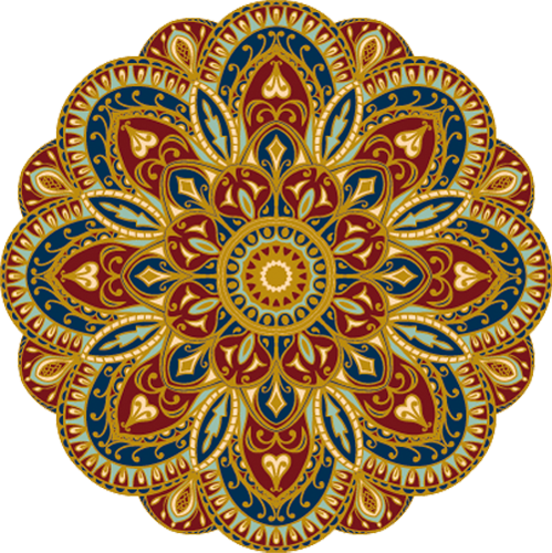 Наклейка «Золотой орнамент»Орнаменты<br><br>