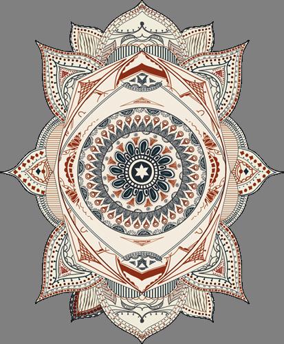 Наклейка «Орнамент-глаз»