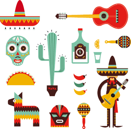 Наклейка «Мексика»Путешествия<br><br>