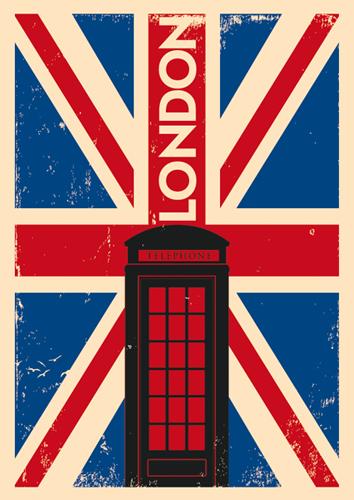 Наклейка «Лондон»Путешествия<br><br>