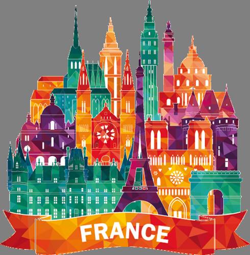 Наклейка «Франция»