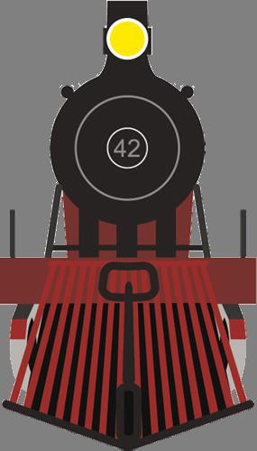 Наклейка «Поезд»Транспорт<br>Цветная интерьерная наклейка на виниле. Яркая и красивая! Можно сделать любой размер. Трехслойная надежная упаковка. Доставим в любую точку России.<br>