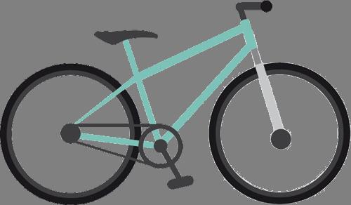 Наклейка «Велосипед»Транспорт<br><br>