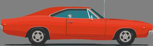 Наклейка «Красное авто»Транспорт<br><br>