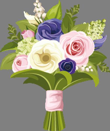 Наклейка «Букет роз»Цветы<br><br>
