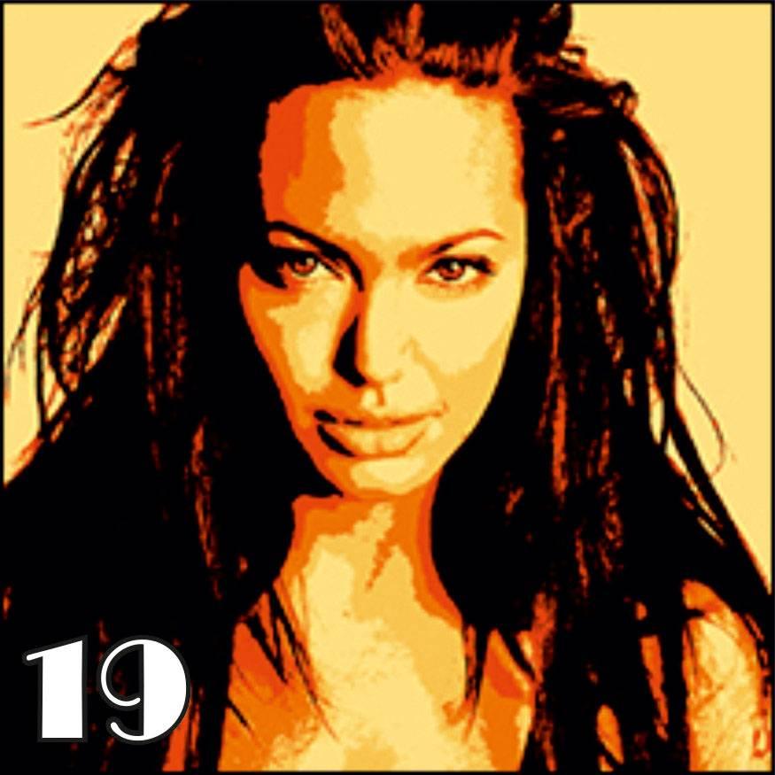 Портрет в стиле поп арт 19