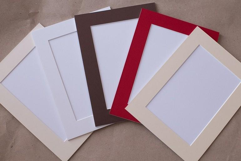 Как сделать рамку из бумаги паспарту