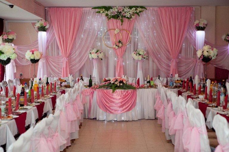 Как оформить зал свадебный
