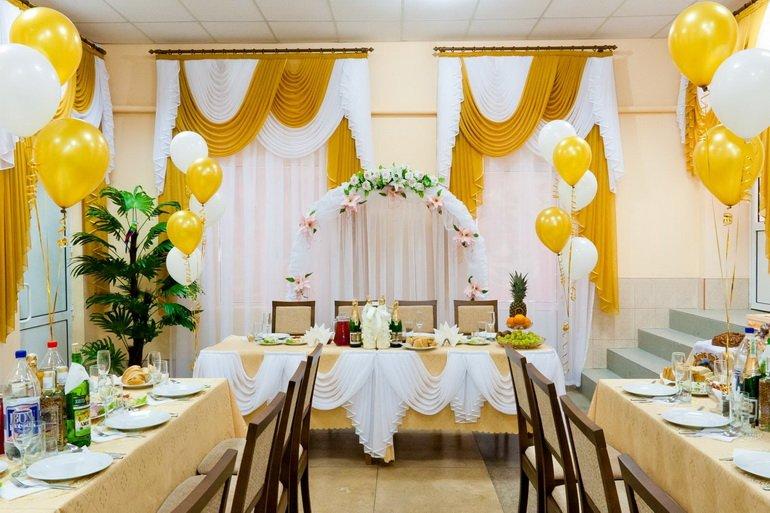 Свадьбаукрашение зала своими руками 96