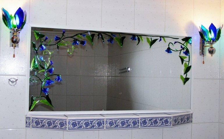 Плафоны в ванную комнату своими руками