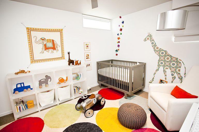 Детские комнаты дизайн для младенцев