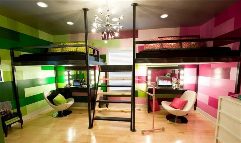 Дизайн комнаты для детей разных возрастов