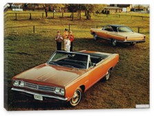 Plymouth, Plymouth Satellite 2-door Convertible & 2-door Hardtop '1969