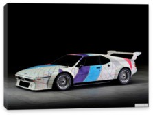 BMW, BMW M1 Procar Art Car by Frank Stella (E26) '1979 дизайн ItalDesign