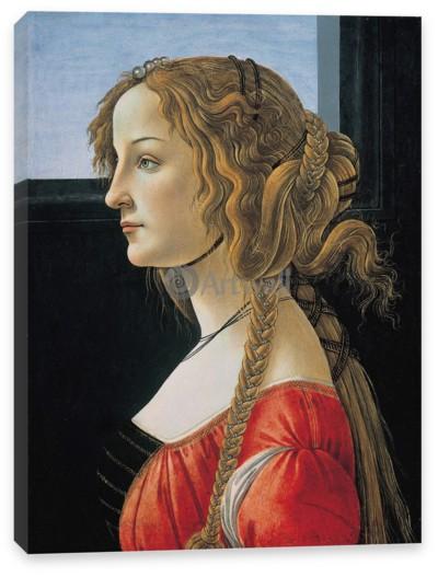 Портрет молодой женщины боттичелли работа для девушек в усть лабинске