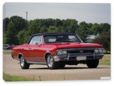 Chevrolet, Chevrolet Chevelle SS 396 Convertible '1966