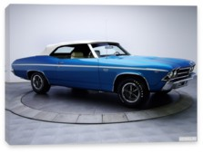 Chevrolet, Chevrolet Chevelle SS 396 Convertible '1969