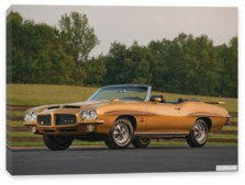 Pontiac, Pontiac GTO The Judge Convertible '1971 Произведено 17 единиц