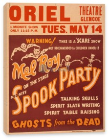 Цирк, Mid-Nite Spook Party, Ghosts from the Dead, Scare Show