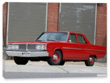 Dodge, Dodge Coronet Deluxe 426 Hemi 4-door Sedan '1966