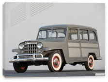Willys, Willys Jeep Wagon Panel Delivery '1946-50