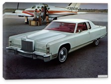 Lincoln, Lincoln Continental Town Coupe '1977