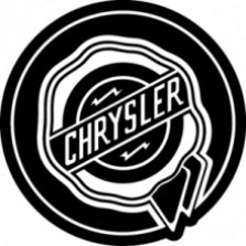 Chrysler, Наклейка «Chrysler»