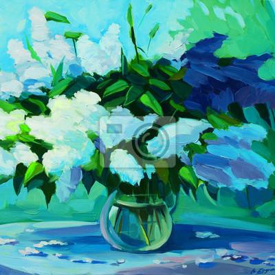 """Постер Цветы """"Постер 108060004-510316"""", 20x20 см, на бумаге от Artwall"""