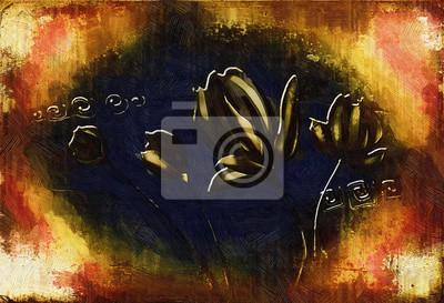 """Постер Цветы """"Постер 118458620-510316"""", 29x20 см, на бумаге от Artwall"""
