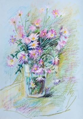 """Постер Цветы """"Постер 124156433-510316"""", 20x29 см, на бумаге от Artwall"""