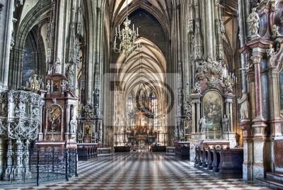 """Постер Города и карты """"Собор Святого Стефана"""", 30x20 см, на бумаге от Artwall"""
