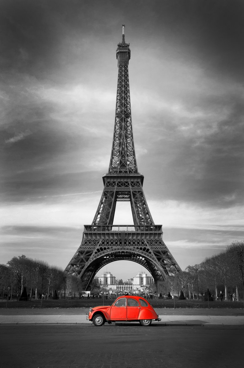 """Постер Города и карты """"Эйфелева башня"""", 20x30 см, на бумаге от Artwall"""