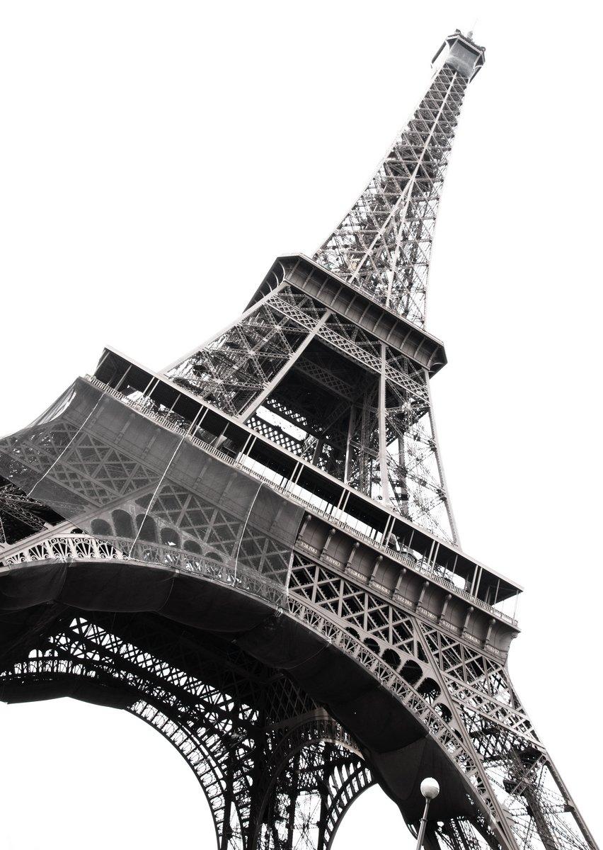 """Постер Города и карты """"Знаменитая Эйфелева Башня"""", 20x28 см, на бумаге от Artwall"""
