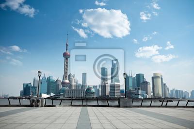 """Постер Города и карты """"Дневные сцены Шанхай"""", 30x20 см, на бумаге от Artwall"""