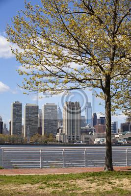 """Постер Города и карты """"Филадельфии расположен на реку Делавэр"""", 20x30 см, на бумаге от Artwall"""