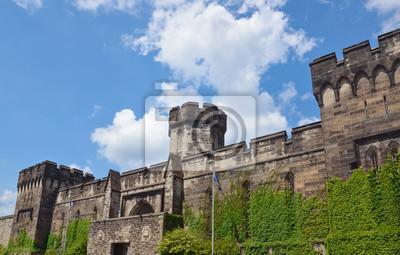 """Постер Города и карты """"Восточной тюрьму, Филадельфия"""", 31x20 см, на бумаге от Artwall"""