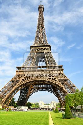 """Постер Города и карты """"Достопримечательность Парижа"""", 20x30 см, на бумаге от Artwall"""