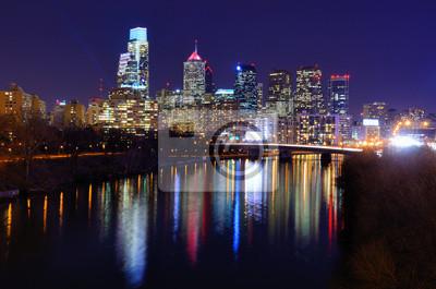 """Постер Города и карты """"Филадельфия"""", 30x20 см, на бумаге от Artwall"""