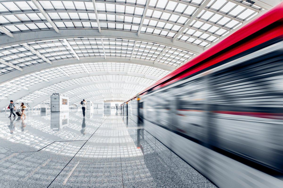 """Постер Города и карты """"Станция метро"""", 30x20 см, на бумаге от Artwall"""