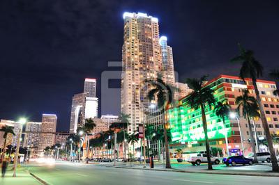 """Постер Города и карты """"Майами"""", 30x20 см, на бумаге от Artwall"""