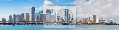 """Постер Города и карты """"Майами-город"""", 79x20 см, на бумаге от Artwall"""