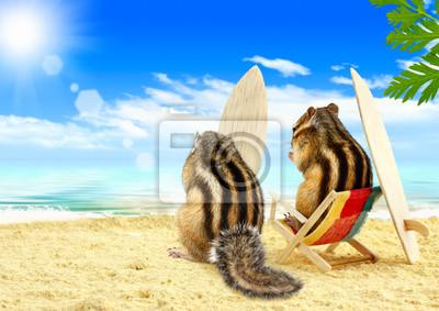 """Постер Животные """"Постер 44701795"""", 28x20 см, на бумаге от Artwall"""