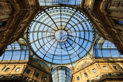 """Постер Города и карты """"Galleria Vittorio Emanuele"""", 30x20 см, на бумаге от Artwall"""