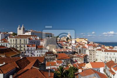 """Постер Города и карты """"Лиссабон / Лиссабон - столица Португалии"""", 30x20 см, на бумаге от Artwall"""