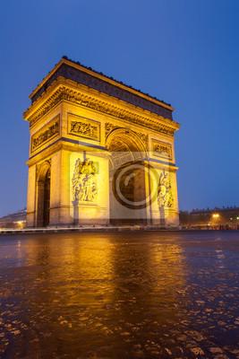 """Постер Города и карты """"Триумфальная арка"""", 20x30 см, на бумаге от Artwall"""