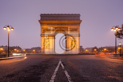 """Постер Города и карты """"Триумфальная арка"""", 30x20 см, на бумаге от Artwall"""