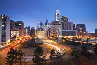 """Постер Города и карты """"Филадельфия."""", 30x20 см, на бумаге от Artwall"""