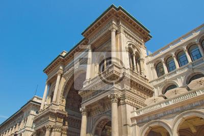 "Постер Города и карты ""Galleria Vittorio Emanuele II, Милан"", 30x20 см, на бумаге от Artwall"