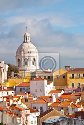 """Постер Города и карты """"Лиссабон вид. Португалия"""", 20x30 см, на бумаге от Artwall"""